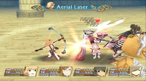 Aerial Laser (TotA)