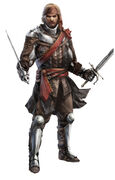 Assassin's Creed IV - Captain Drakes Outfit Concept Art