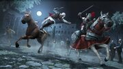 Horse combat 1