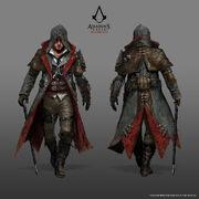 ACS Jacob Frye Master Assassin Outfit - Concept Art
