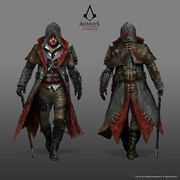 ACS Jacob Frye Master Assassin Outfit - Concept Art