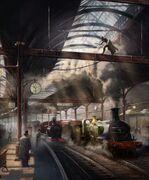 ACS Victoria Station - Concept Art