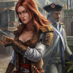 Anne as she appears in <i>Assassin's Creed: Memories</i>