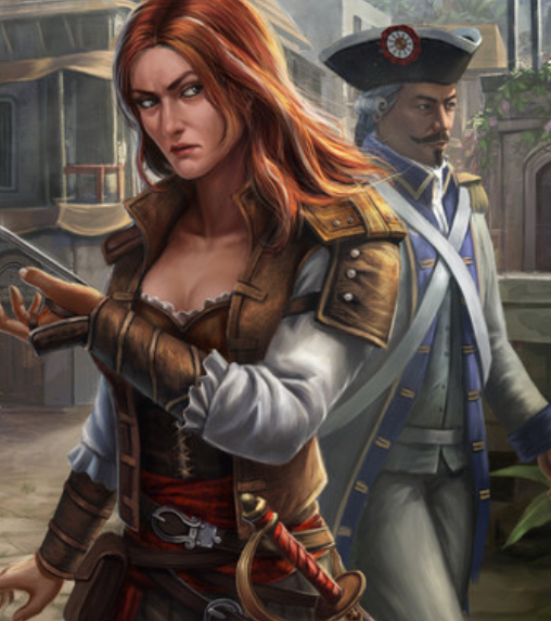Edward Kenway And Anne Bonny Kiss