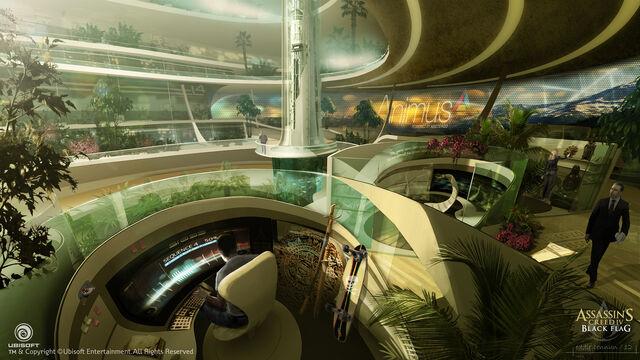 File:Assassin's Creed IV Black Flag Abstergo Entertainment interior 6 Concept Art by EddieBennun.jpg