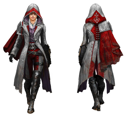 Файл:ACS Evie Frye Alternate Outfit - Concept Art.jpg
