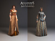 Laurent Sauvage - Female character models - Assassin's Creed Brotherhood