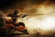 Assassin Aveline Portrait by Christopher Dormoy