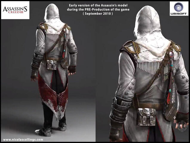 File:AC3 - Pre-Production Connor by Nicolas Collings 2.jpg