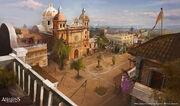 Havana Cathedral 2 - Concept Art