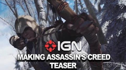Making Assassin's Creed III - Teaser