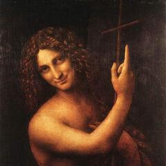 <b>施洗约翰</b><br />(Saint Jean Baptiste)<br /> 达芬奇