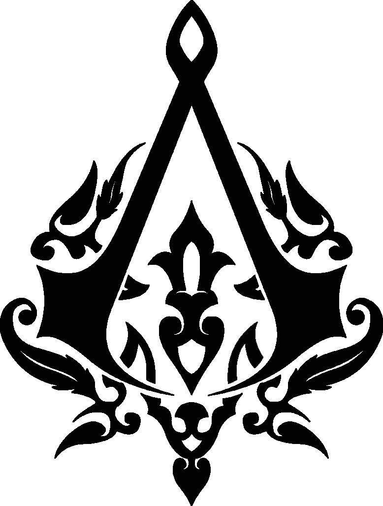 "English assassin's creed logo"" by wolffman 