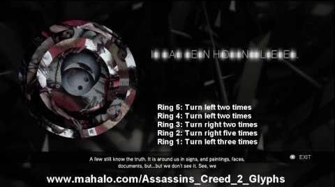 Assassin's Creed 2 Walkthrough - Glyph Puzzle 20 HD