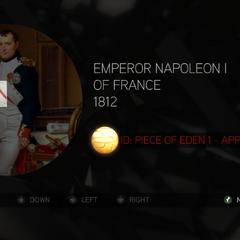 拿破仑·波拿巴手持伊甸苹果