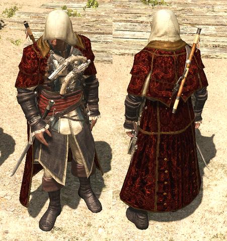 File:AC4 Crimson Cloak outfit.png