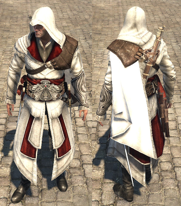 Image - ACRG Ezio outfit.png | Assassinu0026#39;s Creed Wiki | FANDOM powered by Wikia