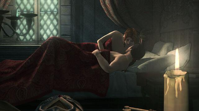 File:Caterina Sforza & Ezio.jpg