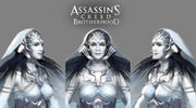 Laurent Sauvage Juno face model- Assassin's Creed Brotherhood