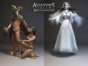 Laurent Sauvage body models - Assassin's Creed Brotherhood