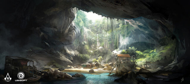 File:AC4 Smuggler Camp - Concept Art.jpg