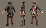 AC3 Benjamin Franklin Disguise Model