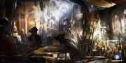 ACU Notre-Dame de Paris Occupied - Concept Art