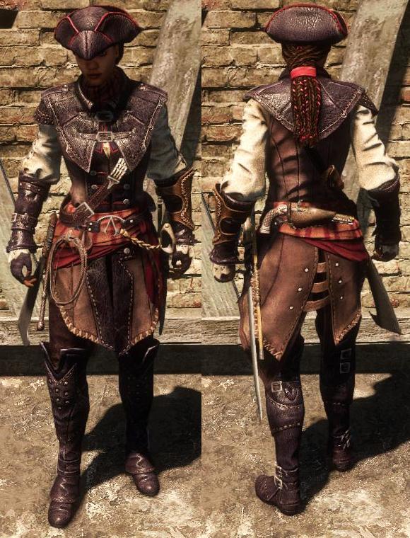 assassins creed iii liberation outfits assassins