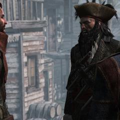萨奇与维恩就国王的赦免问题进行争论