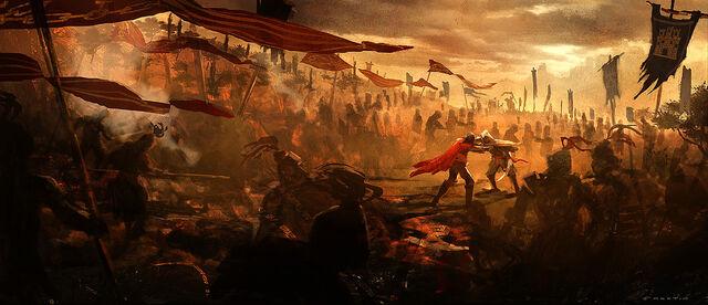 File:Cesare and Ezio Final Battle Concept.JPG