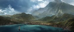AC4BF Arriving in Kingston - Concept Art