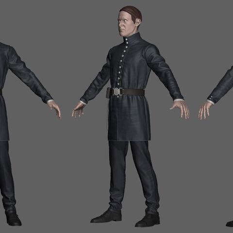 比林斯沃什的人物模型