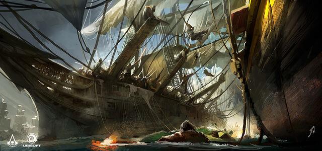 File:AC4 Ship Boarding - Concept Art.jpg
