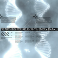 Animus 1.28 interface matching two users' genetic memories