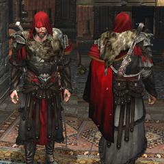 Ezio在<i>启示录</i>中穿着铠甲.