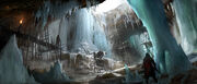 Rogue ice cavern concept