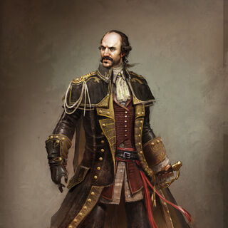 Concept art of Charles Lee