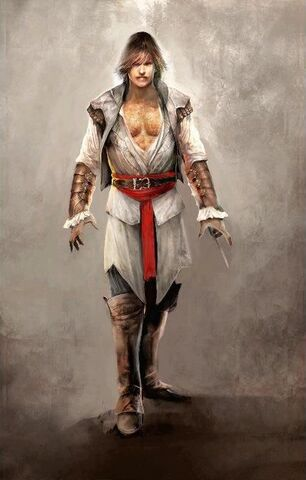 File:Assassin Ezio - Early ACII Concept Art.jpg