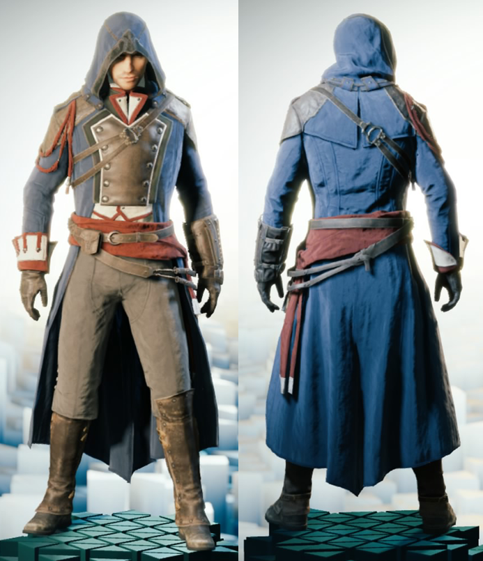 Image - ACU Arno Master Outfit.png | Assassinu0026#39;s Creed Wiki | Fandom powered by Wikia