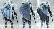 Armor 1-3 Back