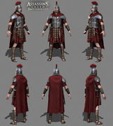 Laurent Sauvage - Roman stage performer models - Assassin's Creed Brotherhood