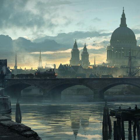 伦敦市概念图