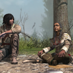 族母同意拉顿哈给顿离开村庄,加入刺客