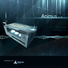 An advert for Animus 1.0