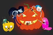Adventure time halloween by skryntarr-d4f0dcb