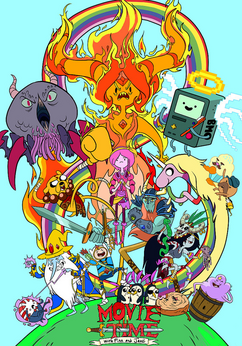 The Adventure Time Movie Poster (Draft 1)