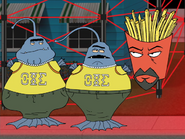 Frat Aliens and Frylock