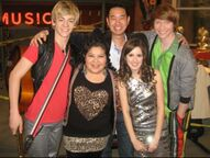 Aaron Ho with Austin Ally cast Albums Auditions