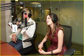 Ross Lynch and Laura Marano - Sirius XM (2)