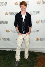 Calum Worthy Elizabeth Glaser Pediatric AIDS Foundation